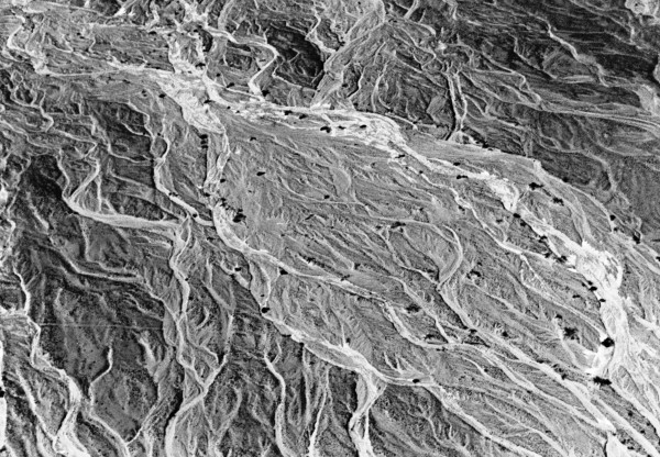 Nazca dry riverbed