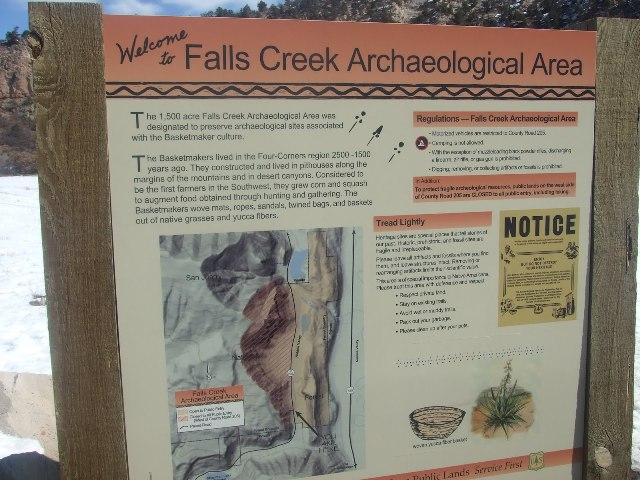 falls creek Top 10 Must See Archaeological Sites in Colorado