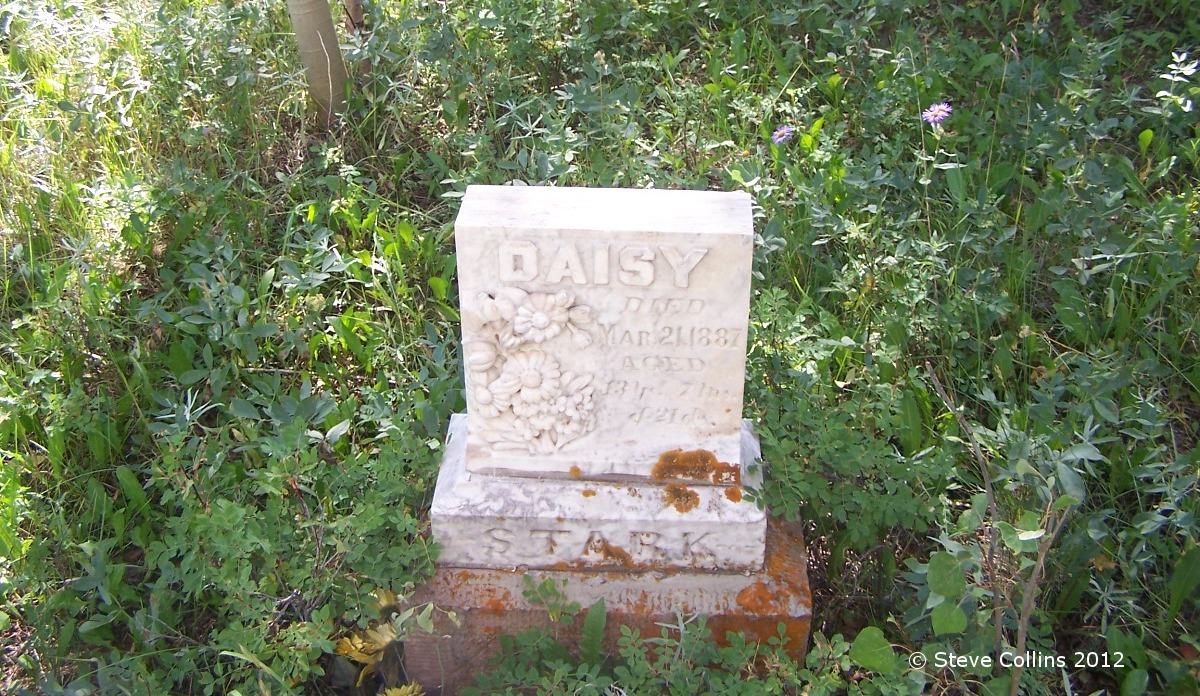 Gravestone Daisy Stark Cemetery Junction   Eight Groovy Graveyard Pictures