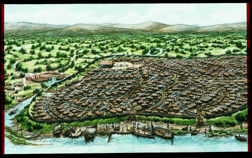 Viking Dublin drawing MQ CHAPTER 2 The Slave Market of Dublin