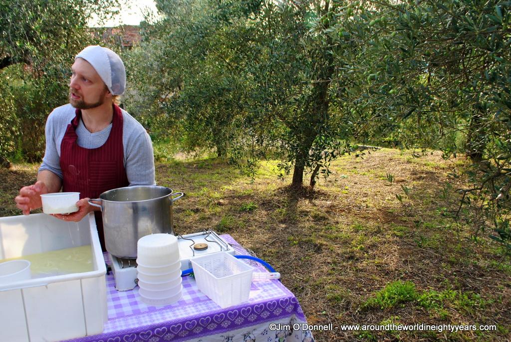 DSC 0097 Photo Essay: The Cheesemaker of I Due Falcetti