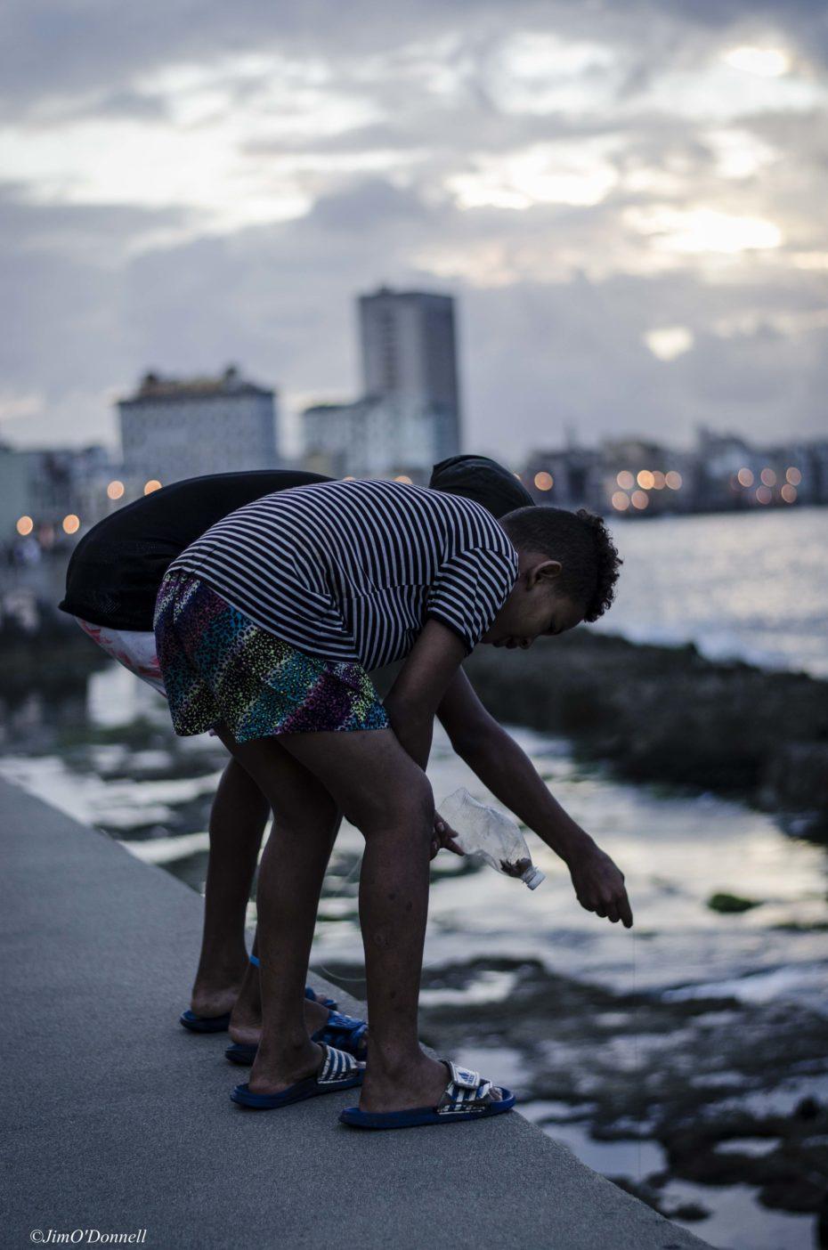 Havana Fishermen of the Malecón